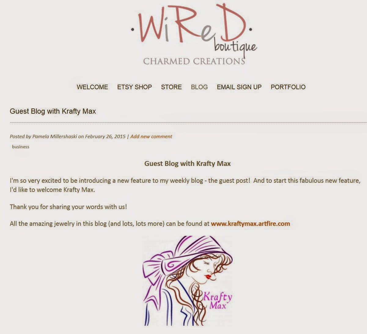 http://www.wiredboutique.com/blog/guest-blog-krafty-max