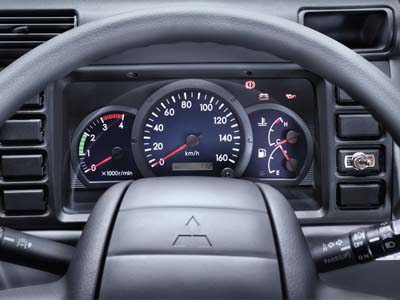 Tachometer Truck Mitsubishi