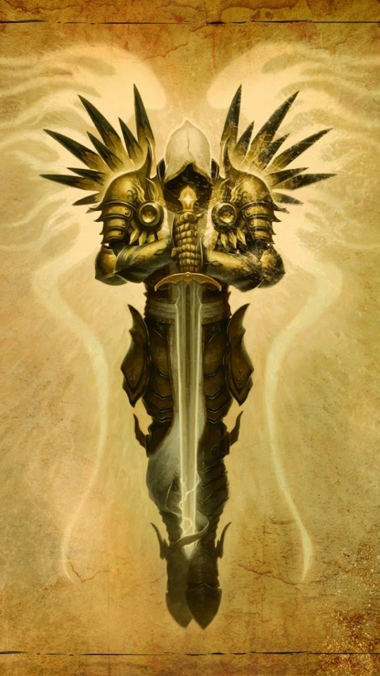 Diablo III Tyrael   Galaxy Note HD Wallpaper