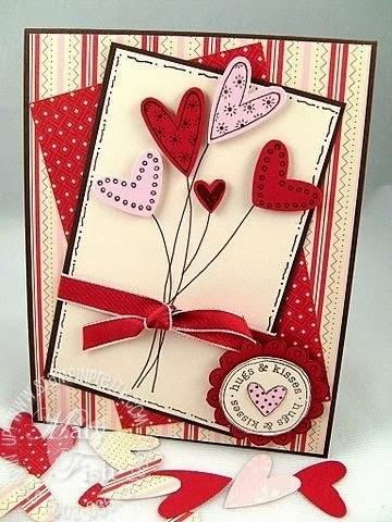 Как сделать открытку своими руками любовную