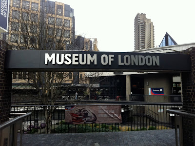 Museum of London, City of London, London, Travel Bloggers, travel, museum entrance