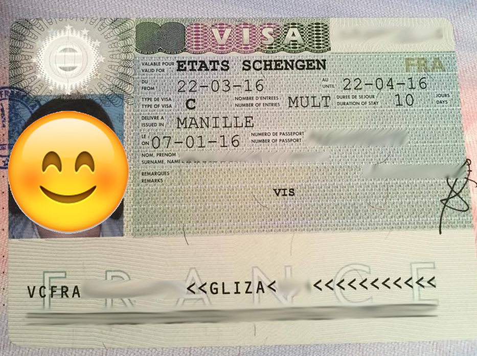 The Travel Junkie: How to Apply for Schengen Tourist Visa for ...