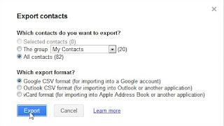 Importar tus contactos de Gmail a excel