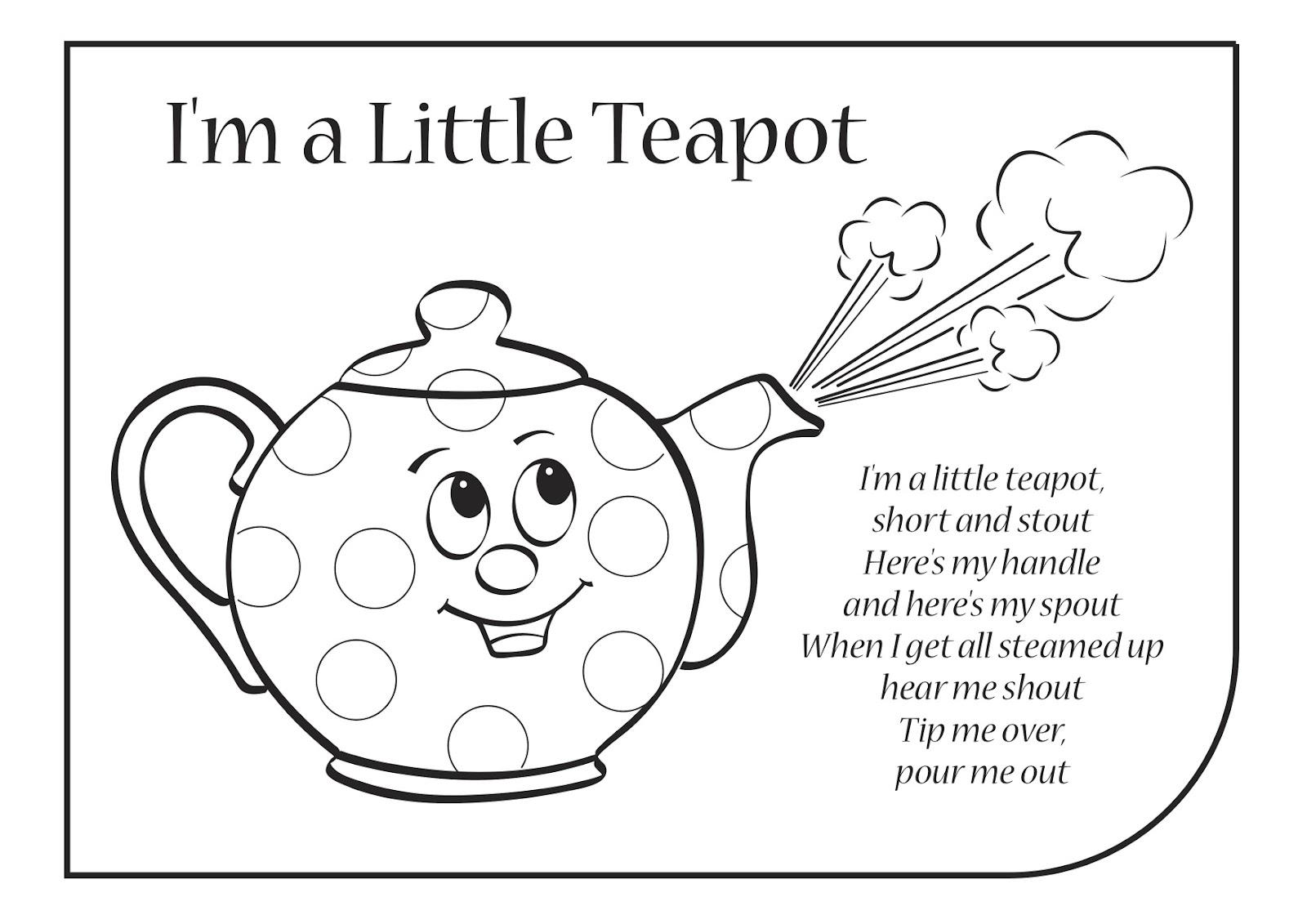 im a little teapot cartoon - photo #32