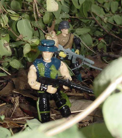 1989 Night Force Muskrat, TRU EXclusive, Funskool Spearhead