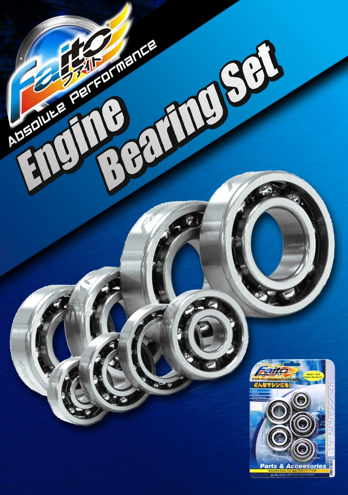 faito bearing. faito racing engine bearing set.
