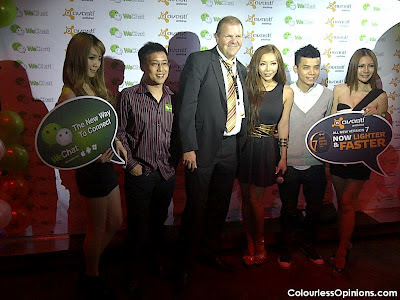 WeChat & Avast launch with Felixia Yeap & Leng Yein