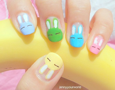 Great Hair Styles Easter Nail Art Inspiration