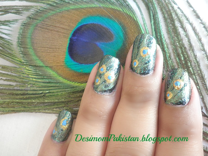 PICTURE POLISH...DO YOU WANNA SEE MY PEACOCK