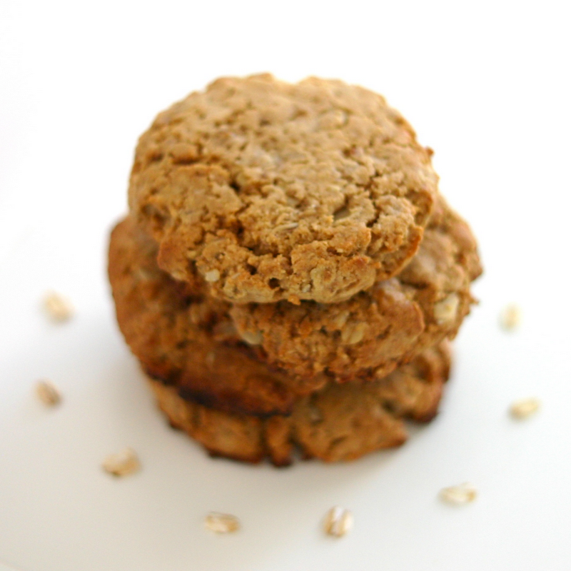 Desserts With Benefits Healthy Peanut Butter Oatmeal Cookies with ...