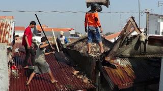 Dalam Sehari, Dua Rumah Warga Terbakar Ketika Sedang Ditinggal Tirakatan Dan Jalan Sehat