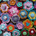 Chart Crochet : Pola Dasar Membuat Bunga Mawar di Tumpuk dan di Sambung