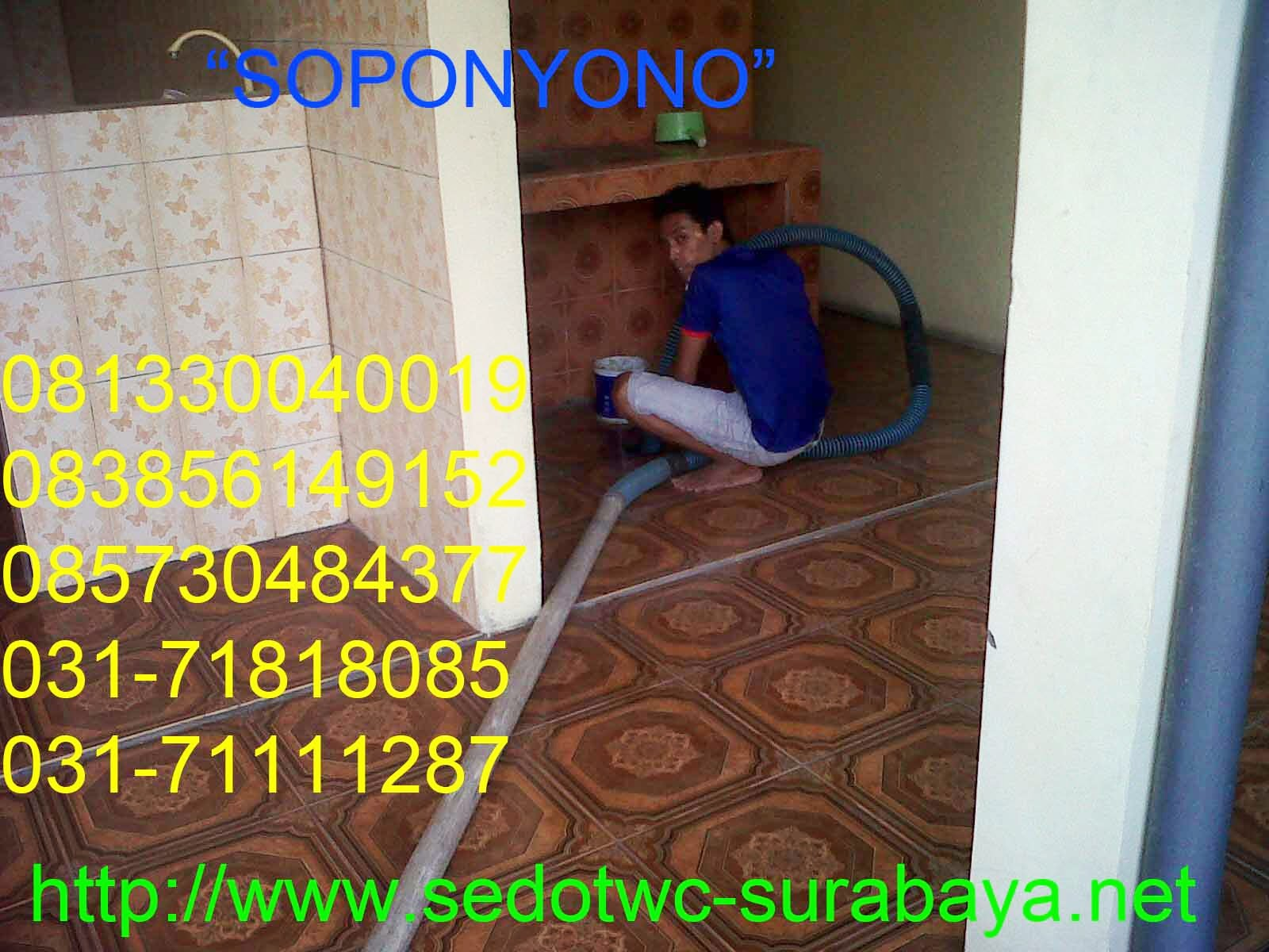 Sedot WC Tegalsari Surabaya Online | Call 085732358519