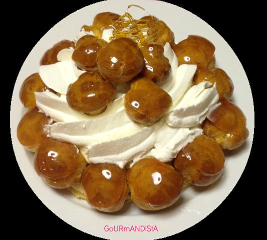 image Atelier de pâtisserie pour un cadeau d'anniversaire : le Saint Honoré.