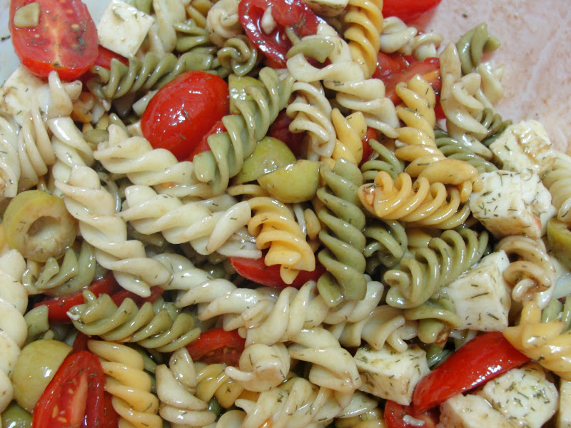 Disfruta cocinar ensalada de pasta for Cocinar noodles
