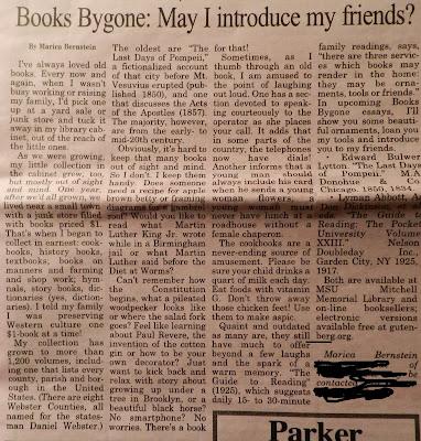 books bygone