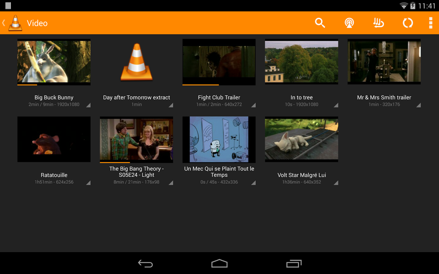 Android media apps 2014 - iHack edition
