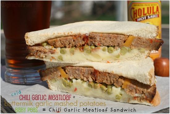 Chili Garlic Meatloaf Sandwich