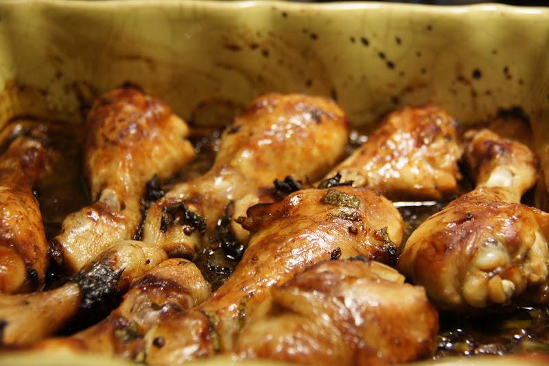 Mon vieux livre de cuisine pilons de poulet la menthe for Vieux livre de cuisine