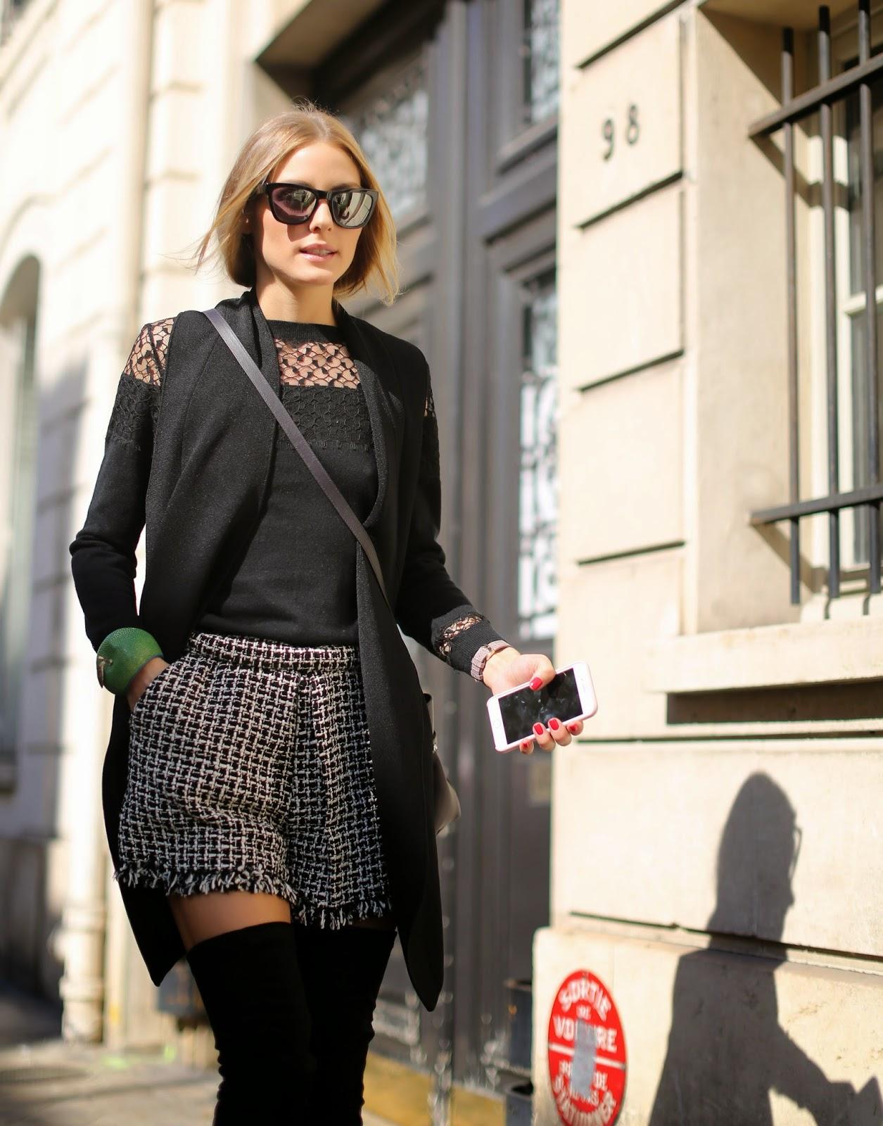 The Olivia Palermo Lookbook Olivia Palermo At Paris Fashion Week Look 6