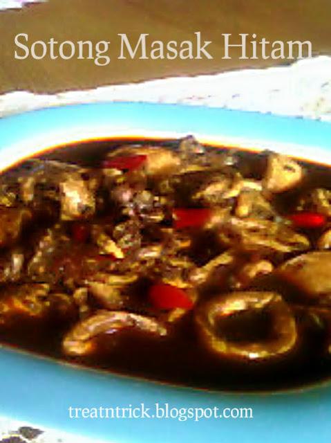 Sotong Masak Hitam Recipe @ treatntrick.blogspot.com