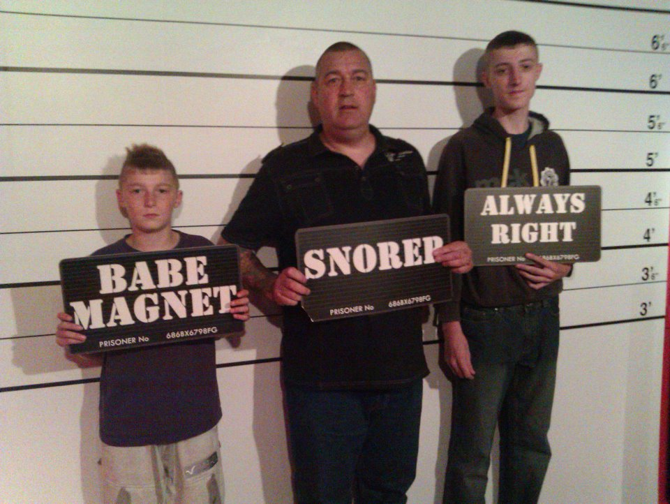 The Usual Suspects, Tussauds, Blackpool