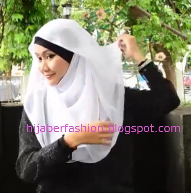 Tutorial Hijab Paris dengan Headband Kalung   Ajaran Agama Islam