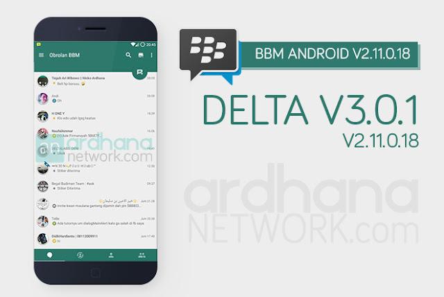 Delta BBM V3.0.1 - BBM Android V2.11.0.18