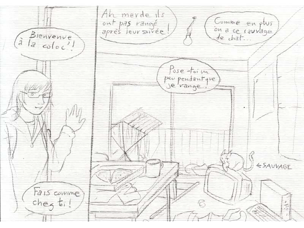 Cohabitation page 11 - 23h BD Astate