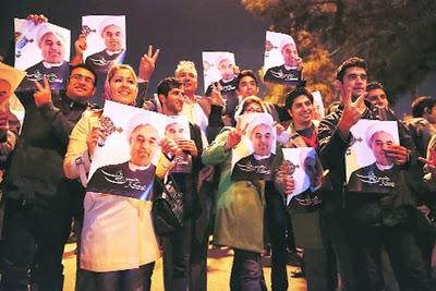 Iranian crowds