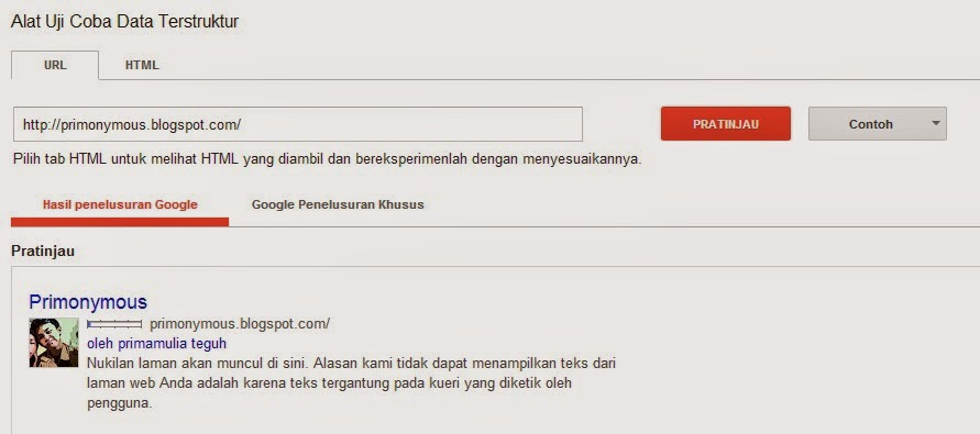 Cara Membuat Author Rich Snippet Di Blog