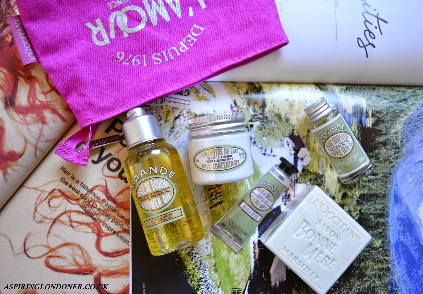 L'Occitane Almond Discovery Collection Review - Aspiring Londoner