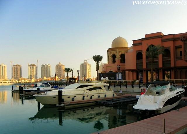 Puerto Deportivo en Doha Pearl