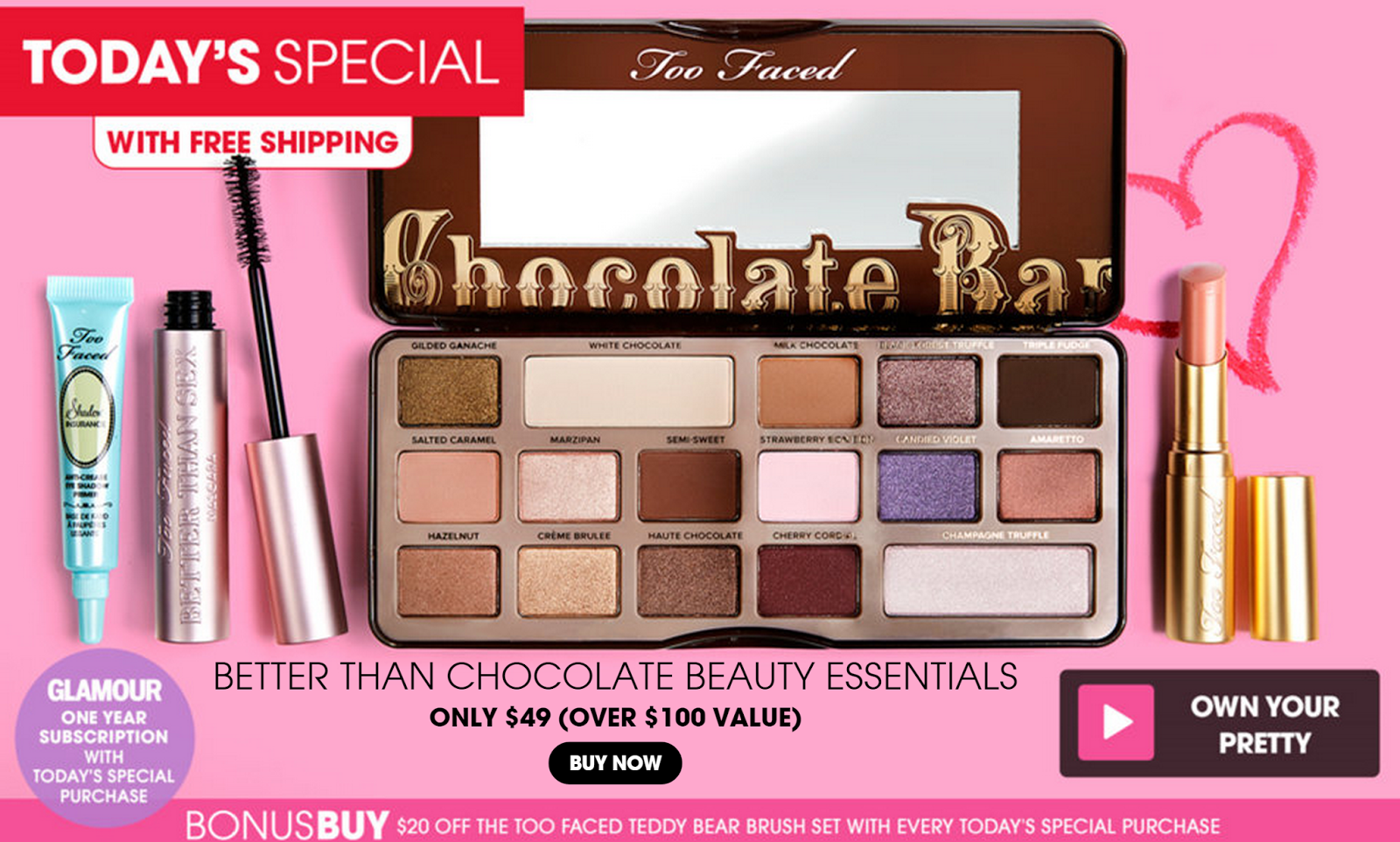 Too Faced Better Than Chocolate Set on HSN Today! | The Budget ...