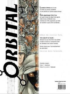 Orbital Tome 1: Cicatrices - 4ème de couverture