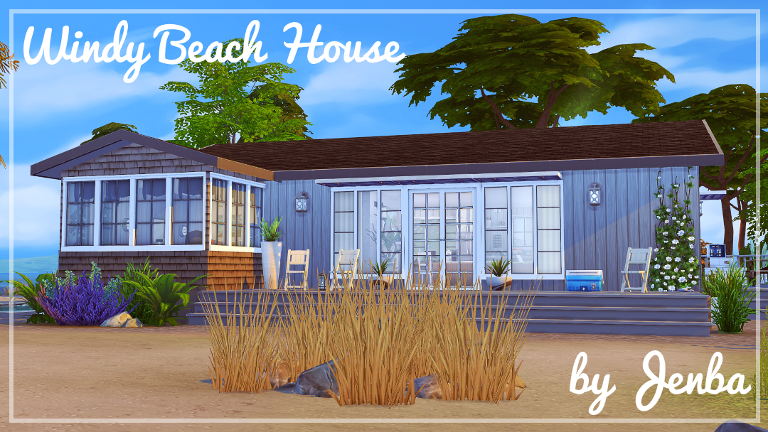 My sims 4 blog windy beach cottage by jenba for Beach house plans sims 3