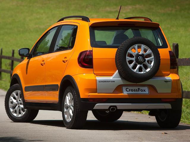 carro CrossFox 2014 Volkswagen