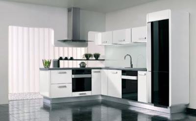 tata ruang dapur minimalis rancangan desain rumah minimalis