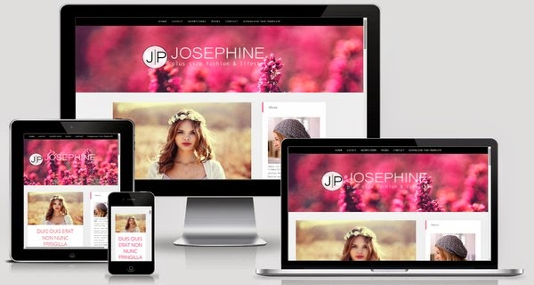 JosePhine Responsive Blogger Template Free Download