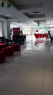 Decoración de fantasía en nuestro hotel de Kuala Lumpur (Malasia)
