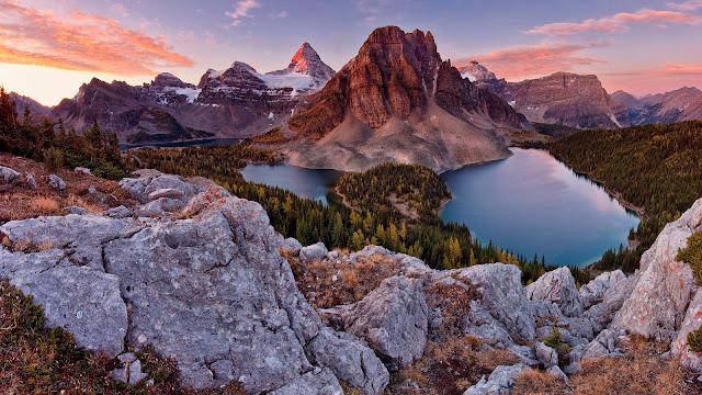 Scenery Alps