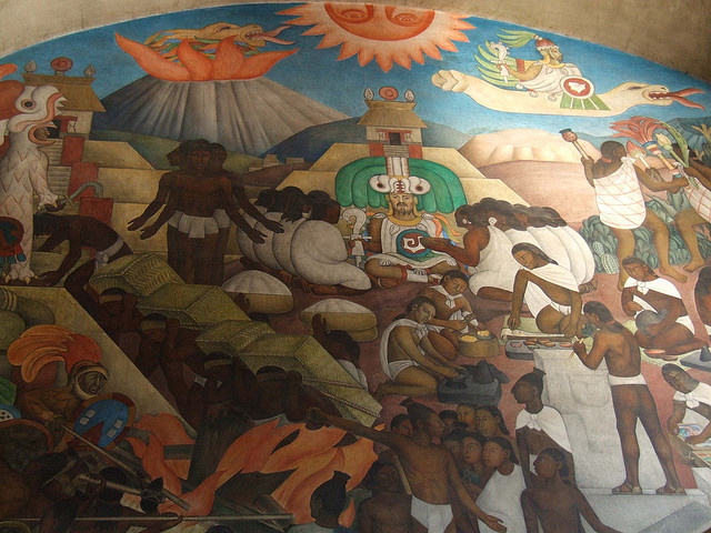 the fall of the aztec empire A: the fall of the aztec empire came about due to the spanish conquest of central america after some brief and violent contact in 1517, a spanish force under hernan cortes arrived in 1519 to completely subjugate the aztecs after war and disease swept the empire, it fell in 1521.