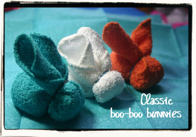 craft lessons: classic boo-boo bunnies tutorial and teething tip