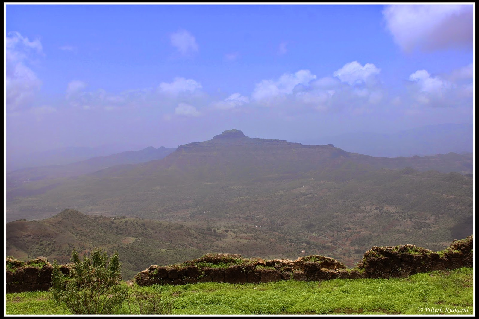 Rajgad Fort from Torna