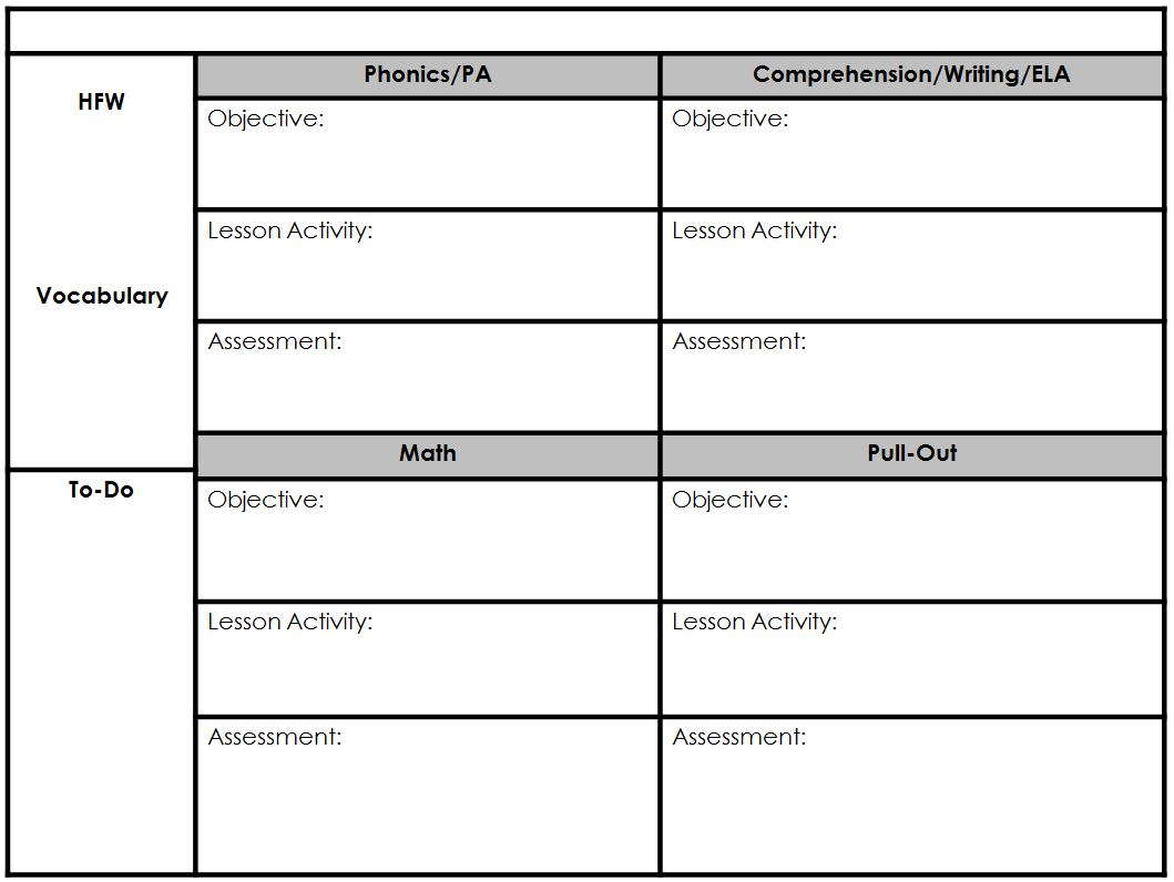iep goal tracking sheet template