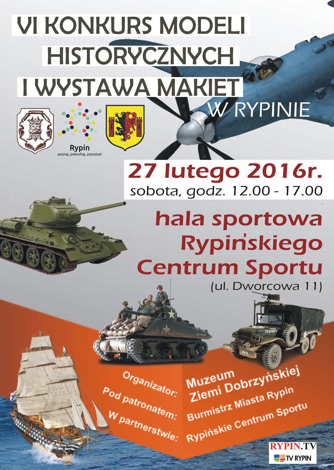 VI Konkurs Modeli Historycznych i Wystawa Makiet