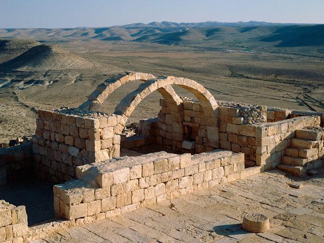 Desierto Avdat Negev, Israel