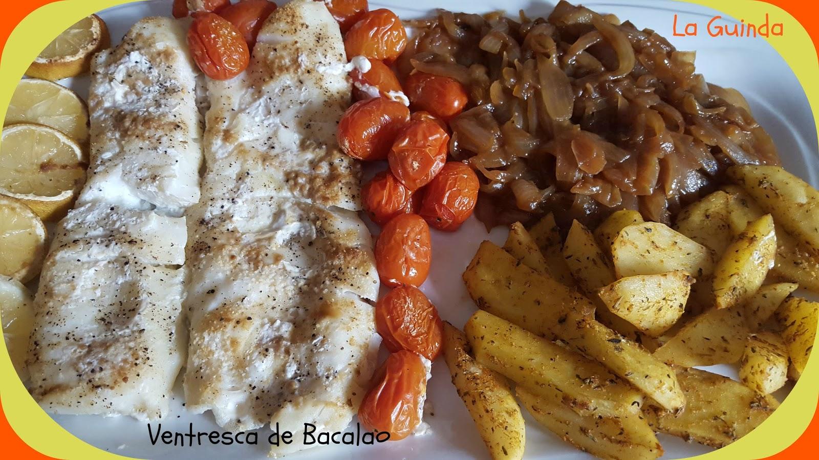 La guinda ventresca de bacalao - Cocinar bacalao congelado ...