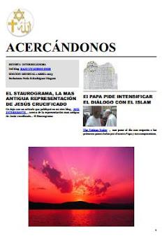 Acercándonos-  Revista Mensual Abril