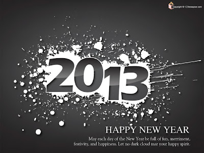 New Year 2013 Wishes Wallpaper